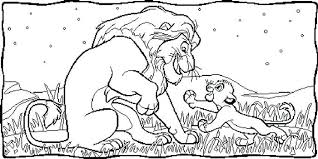 lion king 2 kovu coloring pages tag lion king coloring lion