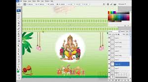 How To Design Invitation Card How To Create Wedding Cards In Photoshop Youtube
