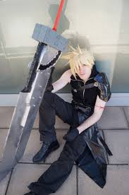 Cloud Strife Halloween Costume Cloud Strife Advent Children Special Offers