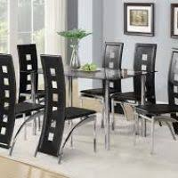 Black Glass Dining Room Sets Stunning Black Glass Dining Room Table Images Home Ideas Design