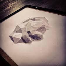 sculpture cadre lion en papier paper frame lion sculpture