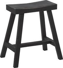 Table Basse Style Asiatique by Tabouret Style Asiatique En Bois Noir 47x32xh51cm Lot De 2 Hanjel