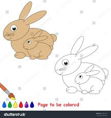 funny pet hare mother colored stock vector 673871050 shutterstock