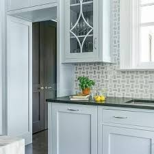 grey kitchen cabinets with black countertops blue kitchen cabinets with black countertops design ideas