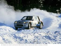 peugeot 205 t16 you can bid on the peugeot 205 t16 group b rally car driven by ari