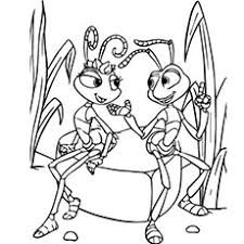 25 free printable ants coloring pages