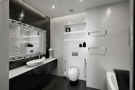 impressive black and white small bathroom designs cool gallery