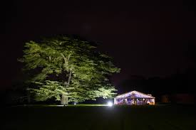 outdoor party lighting event lighting hire led uplighting party lighting stage