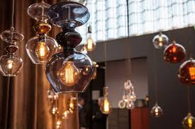 ebb flow hanging lighting with led edison bulbs