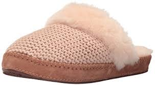ugg sweater slippers sale amazon com ugg s aira knit slip on slipper slippers