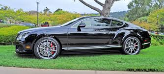 bentley continental 2016 black car revs daily com 2015 bentley continental gt v8s is stunning in