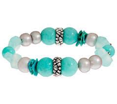 silver bracelet with stones images Bracelets jewelry 001