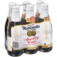 wholesale sparkling cider martinellis sparkling cider 8 4 fl oz pack of 6 walmart