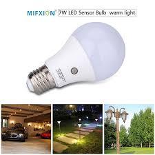 led light bulb with dusk to dawn sensor new 7w e27 dusk to dawn auto sensor light bulb sensor led l auto