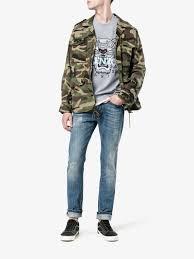 kenzo grey tiger sweatshirt browns