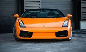 Lamborghini Gallardo Orange - 2007 lamborghini gallardo spyder lamborghini calgary