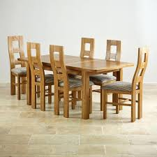 Dining Tables And 6 Chairs Solid Oak Extending Dining Table And 6 Chairs Extending Dining Set