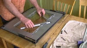 glass oven door shattered diy samsung range how to clean the oven door u0027s interior glass
