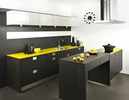 cuisine noir et jaune cuisine noir et jaune dessus de cuisine lave linge dans