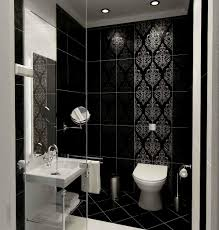 black and white bathroom design ideas brilliant 10 black white bathroom tile design ideas design ideas