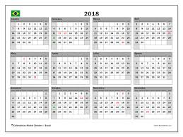 Calendario 2018 Feriados Portugal Calendários Para Imprimir 2018 Brasil