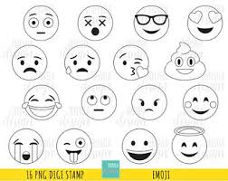 Emoji Coloring Pages Etsy