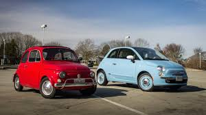 fiat 500 hatchback 2016 fiat 500 vs 1972 fiat 500l the drive