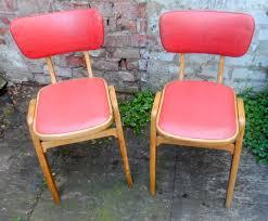1950s kitchen furniture pair of vintage mid 20th century retro kitchen diner chairs vinyl