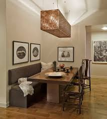 table with bench seat dining room table with upholstered bench dining room table
