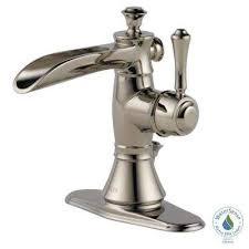 Polished Nickel Bathroom Sink Faucets Bathroom Faucets The Polished Nickel Bathroom Fixtures