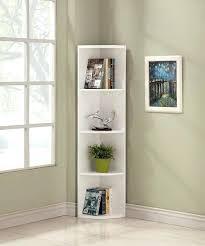 Corner Bookcases With Doors Corner Bookshelves Above Brown Unfinished Shaker Corner Bookcase