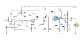 2 1 home theater circuit diagram small ic amplifiers for speakers u2013 electronic projects circuits