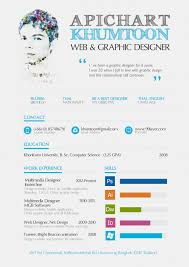 Graphic designers single page resume