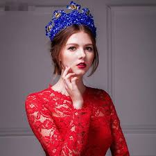 bridal accessories melbourne bm 2015 in stock royal blue bridal accessory hiair tiaras with