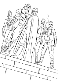magneto coloring pages hellokids