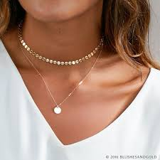 cute choker necklace images Dainty choker necklace gold choker choker necklace in sterling jpg