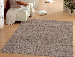 Wooden Floor by Living Room White Shag Rug With Brown Wooden Floor And Grey Wall