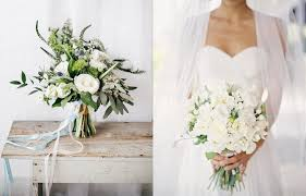 white wedding bouquets wedding ideas the loveliest white wedding bouquets modwedding