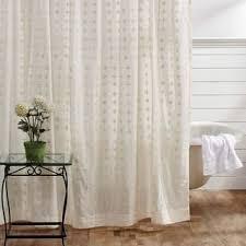 White Cotton Duck Shower Curtain Cotton Shower Curtains Shop The Best Deals For Nov 2017