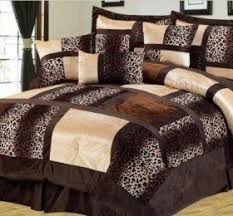 Leopard Bed Set Leopard Print Comforter Set Decor