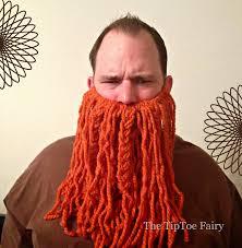make a costume for halloween how to make a yarn beard the tiptoe fairy