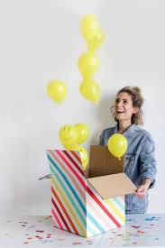 send a balloon in a box usa diy balloon box balloon box balloon and