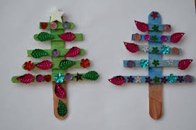 popsicle stick tree ornaments family balance sheet