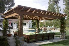 Outdoor Patio Awnings Outdoor Wonderful Patio Shelter Designs Attached Covered Pergola