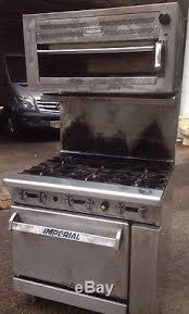 imperial convection oven pilot light imperial range ir 6 six burner oven nat gas restaurant stove and