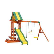 Sears Backyard Playsets Prestige Wooden Swing Set Playsets Backyard Discovery