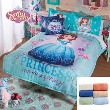 Sofia Bedding Set Disney Princess Sofia 9 Pc Fleece Comforter Set Bundled With