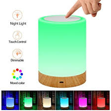 elecstars led touch bedside l elecstars touch l portable night light dimmable table bedside