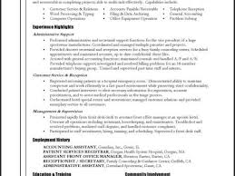 Sample Resume Objectives For Dispatcher by Free Sample Resume General Labor