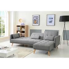 canape limoges déco canape modulable gris limoges 38 06041131 place phenomenal